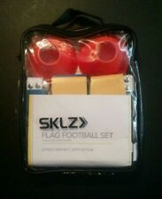 Sklz 10-Man Flag Football Deluxe Set W/ Flags and Cones- New !