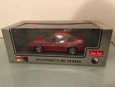 1:18 Rare SUNSTAR PORSCHE 911 Modello 996 Stradale Rosso no autoart kyosho gmp 1