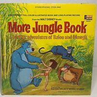 Walt Disney's More Jungle Book: Disneyland Vinyl LP Gatefold 1969 (Children's)