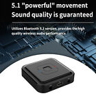 Bluetooth 5.1 AUX Transmitter and Receiver Long Lasting Life 200mAh Battery