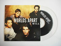 WORLDS APART : I WILL [ CD SINGLE ] ~ PORT GRATUIT !