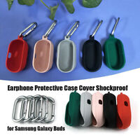 Earphone Silicone Shockproof Protective Case Cover Shell for Samsung Galaxy Buds