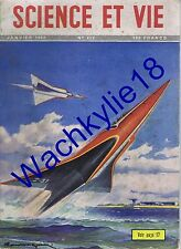 Science et vie 412 01/1952 Hydravion Jules Crevaux Lyon Dactylos Lait Soufflerie