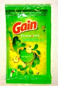 GAIN Fireworks Travel Size Lot of 15 – In Wash Scent Booster One Load Each