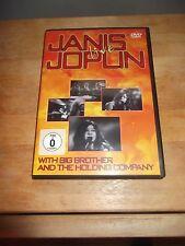 """JANIS JOPLIN """"Janis Joplin Live"""" DVD Falcon Neue MedienEUROPE 2005 - UNOFFICIAL"""