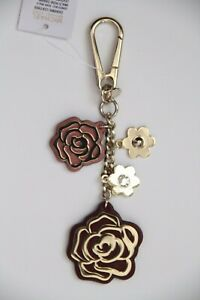 MICHAEL Michael Kors Multi Rose Charm Leather with Box 32H8TF3K2T
