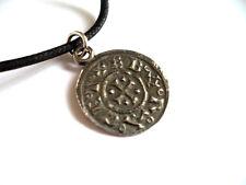 Pewter, Viking Celtic Norse Viking CoinPendant English pewter