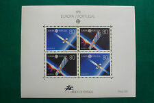 LOT 7101 TIMBRES STAMP BLOC FEUILLET EUROPA 91 ESPACE PORTUGAL ANNEE 1991