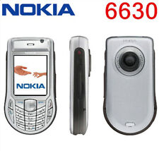 Original Nokia 6630 - Silver (Unlocked) Smartphone 3G /GSM JAVA Cell Phone