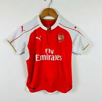 Puma Arsenal Soccer Jersey Youth Size Large Good Condition Authentic
