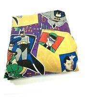 DC Comics Vintage 90s 1995 Joker Batman Two-Face Fitted Twin Sheet Bedding Rare