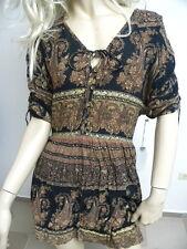 O'Neill Women's Lottie Black Short Sleeve Dress Small