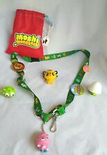 Moshi Monsters Bundle Lanyard With Lots Of Badges Bag And Figures gifts