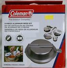 Coleman  5Piece Aluminum Mess Kit Great For Camping