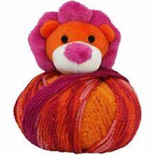 Dmc Top This! Yarn Lion Knitting Kit Child's Hat Decorative Pom Pom