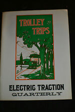 1964  ELECTRIC TRACTION QUARTERLY V2#4 *Trolley Trips Bay State Street Railway*