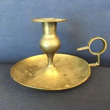 Antiques, Metalware, Brass, Candle Stick, single, 1900-1940, United States