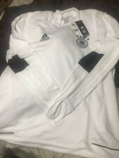 (X-Large, White/Blanco/Negro) - adidas Men's Dfb Trg Top Sweatshirt. Germany Wc