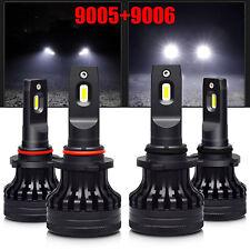 9005 9006 HB3 HB4 20000LM Combo 6500K White LED Car Headlamp Kit High Low Beam 2