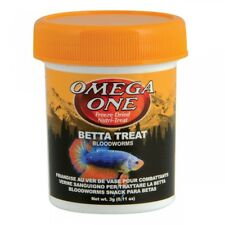 Omega One Freeze Dried Betta Treat 3gr Bloodworms