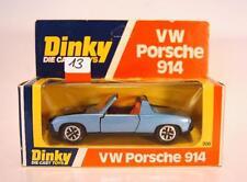 Dinky Toys 208 VW Porsche 914 blaumetallic in O-Box #013