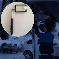 Car Bottom lamp Telescoping Mirror Inspection Mechanic Adjusting Tool LED Light