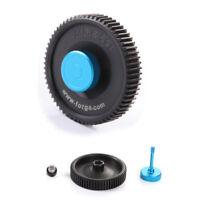 Fotga big black standard lens 65T 0.8mm pitch gear for DP500 II IIS follow focus