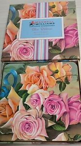 Maxwell & Williams Chintz Blue Ribbons Set 6 Coasters Mint Condition Boxed MIB