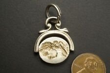 Iii Spinner Seal Fob c1780 Antique English Silver King George