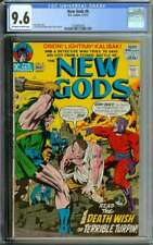 NEW GODS #8 CGC 9.6 OW/WH PAGES // JACK KIRBY + MIKE ROYER COVER ART 1972