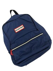 Genuine Hunter Original Kids Nylon Backpack - Blue - New Without Tags.