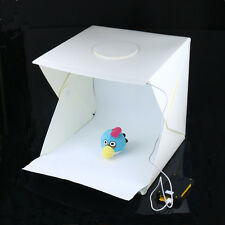 40cm studio photo Shooting éclairage LED TENT KIT Portable Mini Cube Boîte