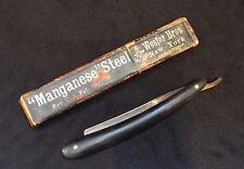 Vintage Maleham & Yeomans Sheffield Straight Razor with Box