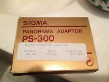 SIGMA PANORAMA ADAPTOR PS-300 WITH CASE. Made In Japan
