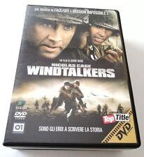 WINDTALKERS FILM DVD ITALIANO OTTIMO SPED GRATIS SU + ACQUISTI!!!