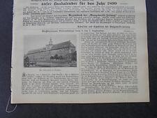 1898 Baugewerkszeitung 75 / Breslau /Schweiz Eisenbahn Gornergratbahn