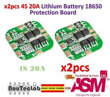 2pcs 4S 14.8V / 16.8V 20A Peak Li-ion BMS PCM Battery Protection Board