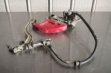 05 HONDA CRF450R OEM REAR BRAKE CALIPER + MASTER CYLINDER CRF450 CRF 450R 450 R