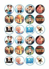 24 x Boss Baby Cup Cake Toppers ICING