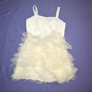 Short Tüll-rüschen Children Dress 170 Flower Girl Communion Gala Dress