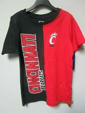 ProEdge By Knights Apparel Youth Boys Cincinnati Bearcats T-Shirt Size S (6/7)
