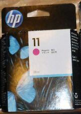 Cartouche d'encre HP 11 MAGENTA - C4837A -Neuf sous blister - NOV 2013