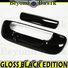 DODGE RAM 2002-2008 1500 2500 GLOSS BLACK Tailgate Handle Cover Overlay Molding