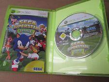 Sega Superstars Tennis (Microsoft Xbox 360, 2008) NEAR MINT PAL COMPLETE