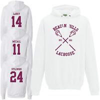 Beacon Hills Lacrosse Hoodie - Teen Wolf Stilinski Lahey McCall White Hoody Top