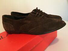 Glacee Abby shoes brown suede leather vtg women's 7.5 yugoslavia made 70s