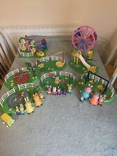 Peppa Pig-Parque Infantil & Fair Ground Playset. con Figuras