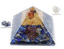 Extra Large Lapis Lazuli  Orgonite (70-75mm) Orgone Gemstone Pyramid Large
