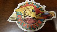 The Rocketeer promotional coaster - Rare item