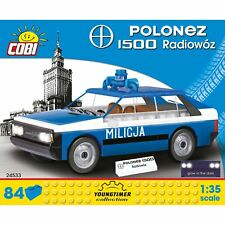 COBI FSO Polonez 1500 Radiowóz Konstruktionsb. Youngtimer Collection 84 Teile